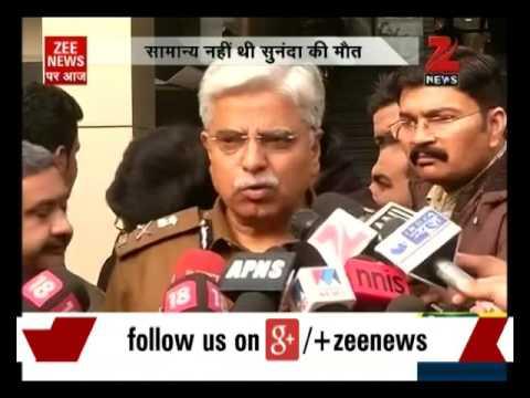 Sunanda Pushkar's death not natural: Delhi Police