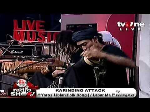 KARINDING ATTACK @RadioShow_tvOne