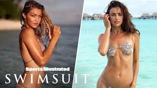 Gigi Hadid Glows, Irina Shayk Swims With The Sharks In Tahiti   On Set   Sports Illustrated Swimsuit