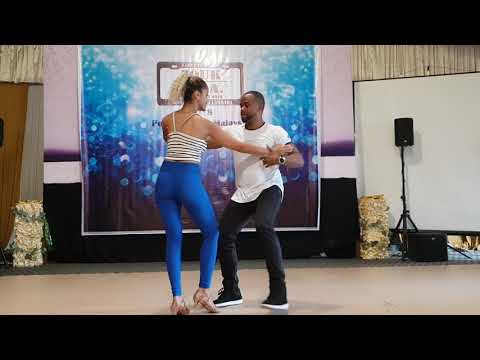 Zouk SEA, Carlos and Fernanda Brazilian Zouk demo, basics