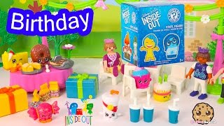 Birthday Party With Disney Pixar Inside Out Funko Mystery Mini Surprise Blind Bag Unboxing Video