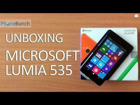 Microsoft Lumia 535 Unboxing and Hands-on Overview