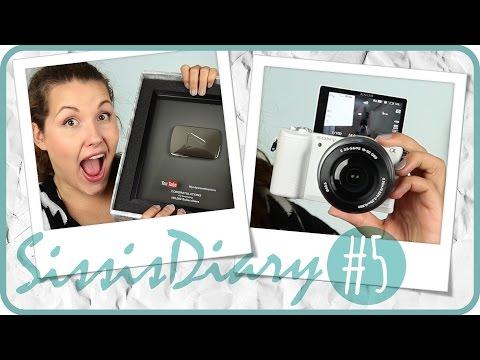 Sissis Diary L Youtube Button, Neue Kamera & Danke video