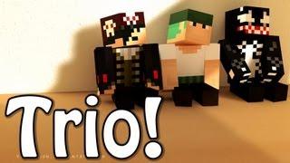 O Trio está de Volta! - Minecraft: Os Templários (ft VenomExtreme e Feromonas)