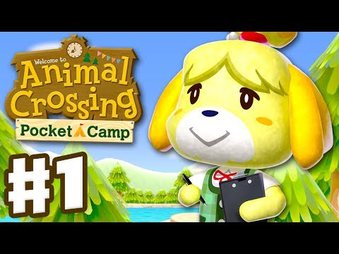 Animal Crossing: Pocket Camp - Gameplay Part 1 - Welcome to Camp! (iOS. Android)