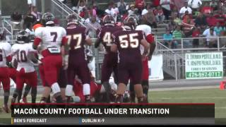Macon County football under transition