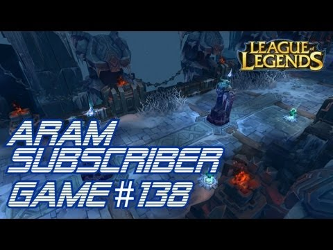 ► LoLPoV - ARAM Subscriber Game #138 [Nidalee] HOWLING ABYSS (League of Legends Live Commentary)