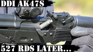 DDI Hammer Forged AK47S, 527 Rounds Later...Ejection Rejection