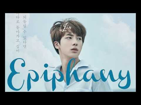 BTS Jin 'Epiphany' HD Audio (WITH SUBTITLES AND MY UNWANTED COMMENTARY)