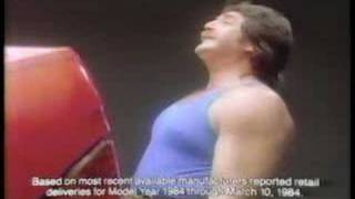 Ford Tempo Vintage Strong Man Commercial with John Wooten