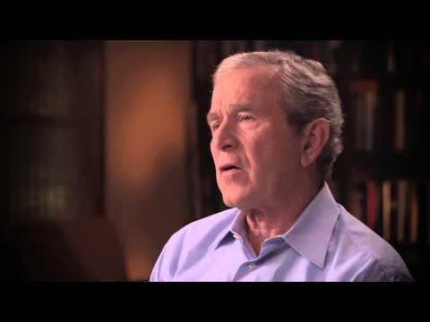 """Life is Service Til the End"" - President George W. Bush"