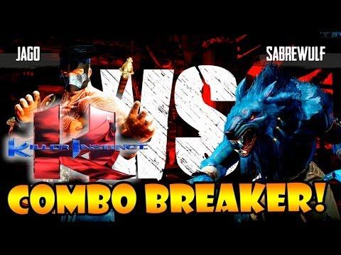 KILLER INSTINCT: JAGO X SABREWULF - COMBO BREAKER MITO!