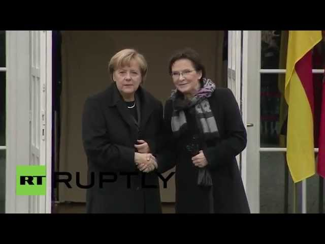 "Poland: ""No security for Europe without Russia"" says Merkel"