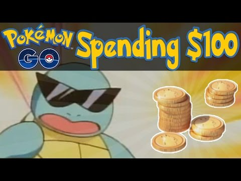 Pokemon GO - Spending $100! [Pokemon GO iOS/Android Tips & Tricks]