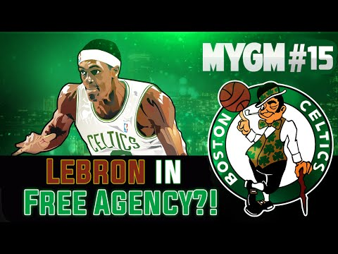 NBA 2K15 My GM Mode Ep.15 - Boston Celtics | Lebron James in Free Agency?! UH OH! PS4