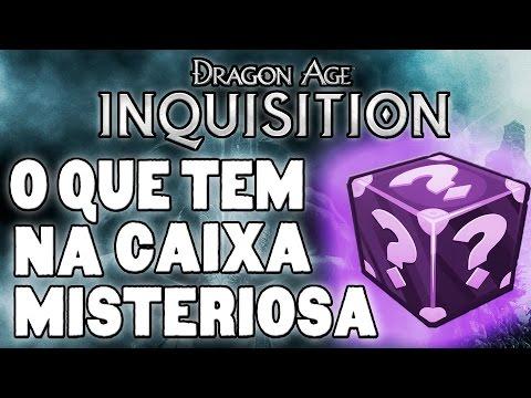 Dragon Age Inquisition - O que tem na CAIXA MISTERIOSA?  [Quest O GRANDE ]