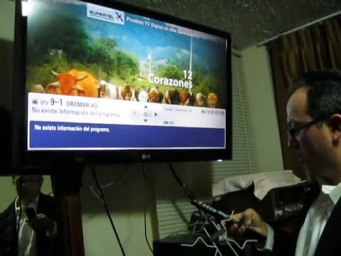 CANALES DIGITALES HD TERRESTRE ECUADOR