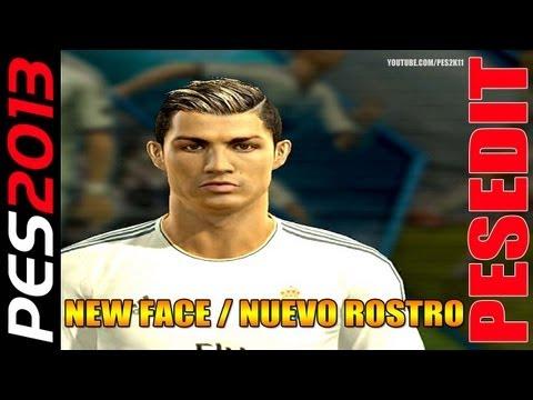 PES 2013: Review - Cristiano Ronaldo New Face / Nuevo Rostro + PESEDIT / Kitserver