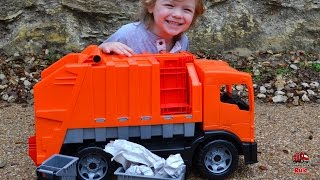 World's  BIGGEST Toy Garbage Truck! l Unboxing and Play For Kids l Garbage Truck Videos For Children