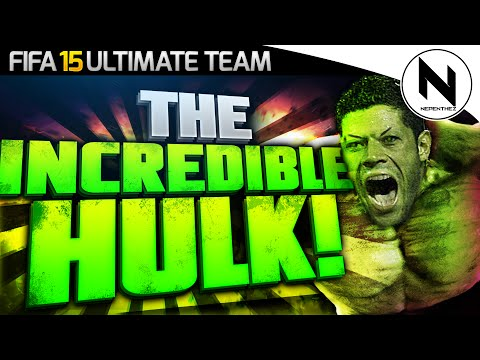 The Incredible Hulk! - Fifa 15 Ultimate Team video