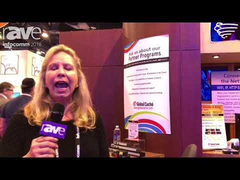 InfoComm 2018: Global Caché Talks Control Tower IR Database in the Cloud, Partnership with QSC