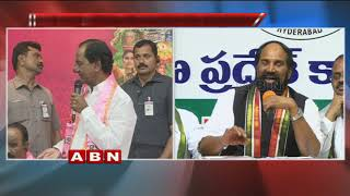 Uttam Kumar Reddy Strong Counter to CM KCR