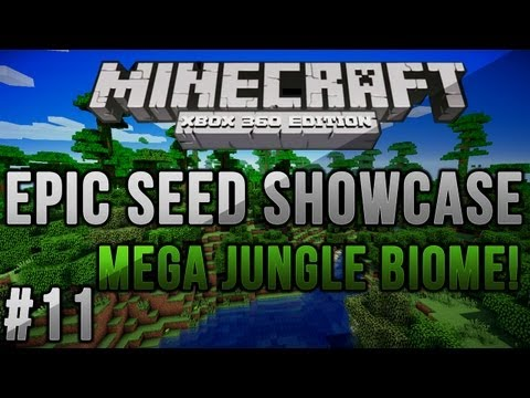 Minecraft: Xbox/PS3 Seeds - Minecraft Xbox 360/PS3: LARGEST JUNGLE BIOME EVER! TU12 | MCXBLA/PS3 Seed | Ep 11