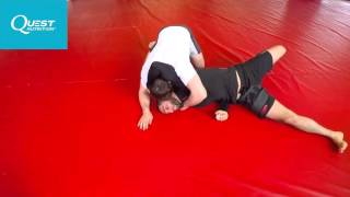 Brazilian Jiu-Jitsu - Powerful Arm Triangle Escape - Firas Zahabi
