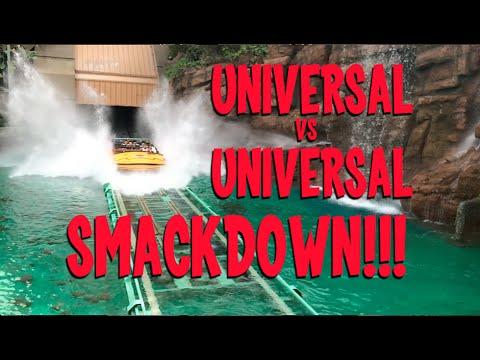 Universal Orlando vs Universal Hollywood SMACKDOWN!!!