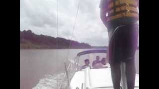 Sailing on the Suriname river (March 28, 2013) pt.2