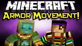 Minecraft - ARMOR MOVEMENT MOD Spotlight - Gadgets Are AWESOME! (Minecraft Mod Showcase)