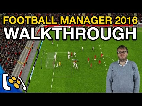 Football Manager 2016 Walkthrough: My Life as a Football Manager Episode 1
