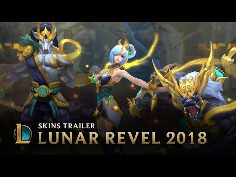 Unite Against The Dark | Lunar Revel 2018 Event Trailer - League of Legends