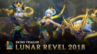 Unite Against The Dark | Lunar Revel 2018 Event Trailer - League of Legends