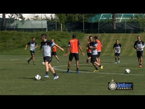 ALLENAMENTO INTER REAL AUDIO 23 05 2013
