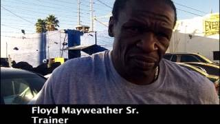 Mayweather Sr. on speaking with 50 Cent, the drama with Floyd, training Andre Dirrell, more