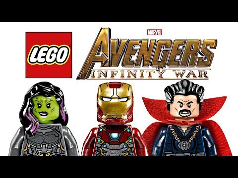 LEGO Avengers Infinity War 2018 sets list and description!