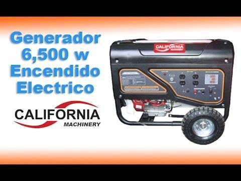 Generador 8,000 KW -6,000 KW 15 HP Planta de luz generador eléctrico