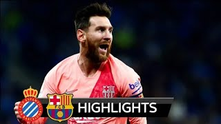 Espanyol vs Barcelona 0-4 All Goals & Highlight 09/12/2018