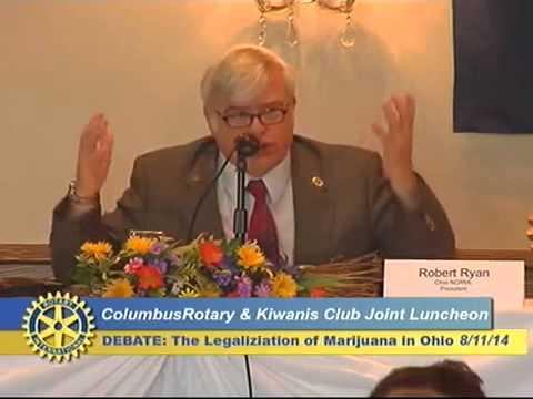 Columbus Rotary Club Debate Marijuana Legalization