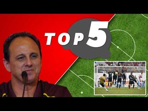 Top 5: Apresentado, Ceni fala de Sidão, base, rivais, desafios e esquemas táticos