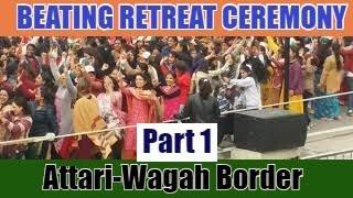 Wagha border dance