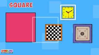 Shapes for Kids | Shapes with objects | Object Shapes