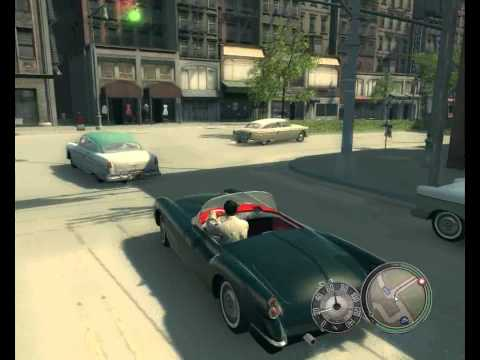 Mafia II - Cool cars & hotrods fun gameplay