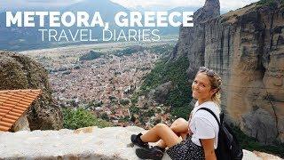 Meteora, Greece Travel Diaries ♡ Cesley Taft
