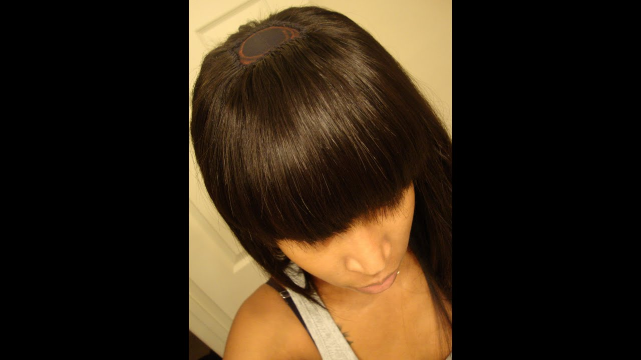 How to Cut Parted Bangs How to Cut a Bang
