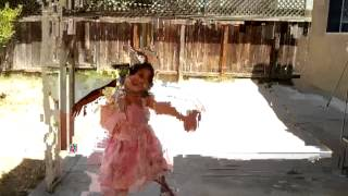 Princess Breanna dancing