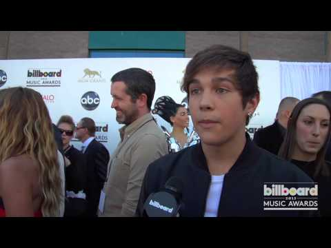 Austin Mahone on the 2013 Billboard Music Awards Blue Carpet