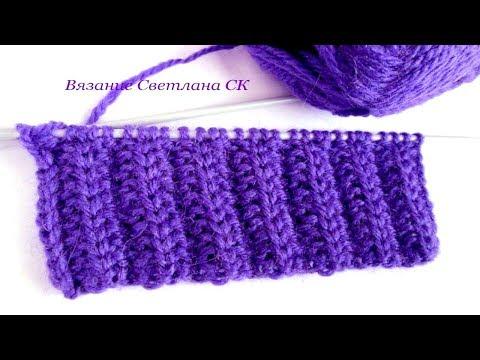 Связать шарф спицами для детей