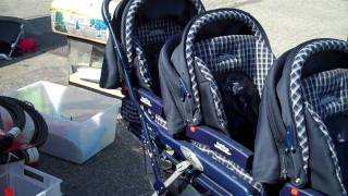 Raising Triplets, a $1000 Stroller and No Manual for New Parents.MP4